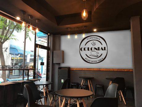 VINILO LOGO CAFETERIA