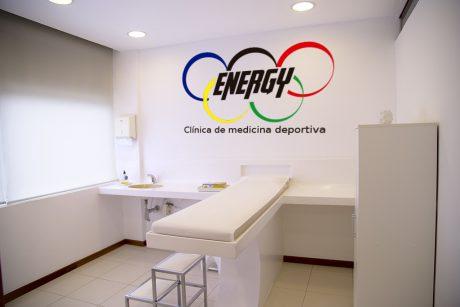 vinilo logo clinica deportiva