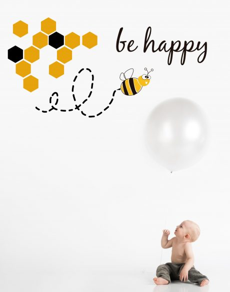 vinilo abejas version reducido