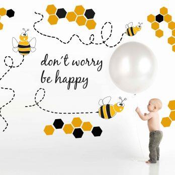 vinilo abejas