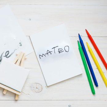 vinilo letras de tu hijo