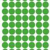 vinilo topos pequeños verde lima