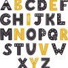 vinilo abecedario tipo boho