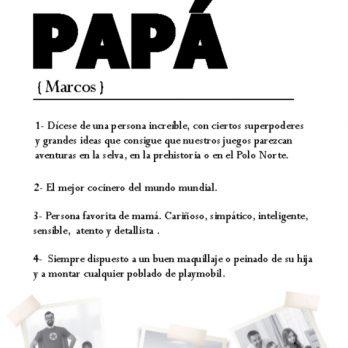 lámina diccionario papa