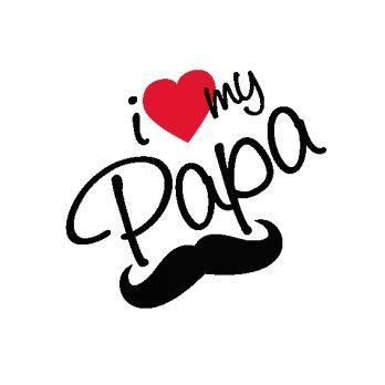 lamina i love my papa