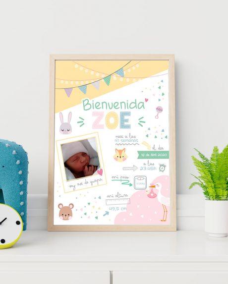 lamina decorativa nacimiento