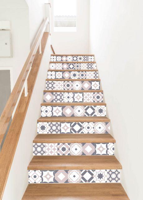 Vinilo azulejos hidráulicos modelo Aitana