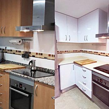 Vinilo muebles de cocina