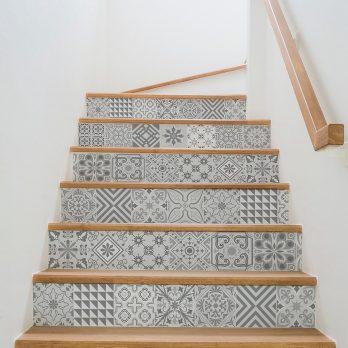 Vinilo baeza escalera