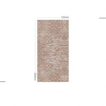 mural autoadhesivo efecto ladrillo just brick
