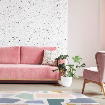 alfombra vinílica love paper