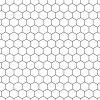 alfombra vinilica modelo colmena